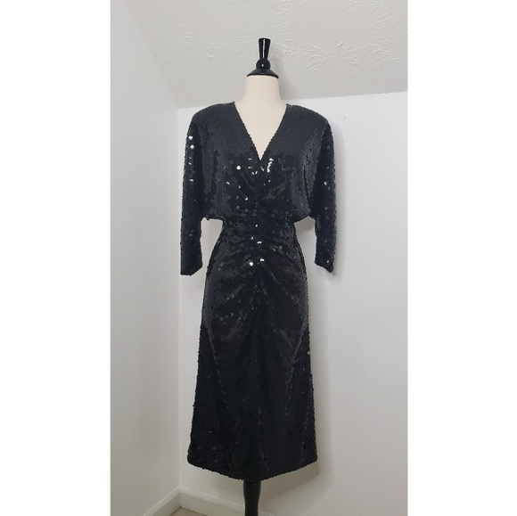 Oleg Cassini Dresses & Skirts - Vintage Oleg Cassini Sequin Cocktail Dress